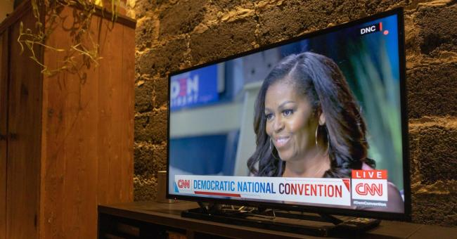 Convention démocrate Michelle Obama