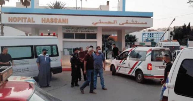 MRE : manifestation devant l'hôpital de Nador