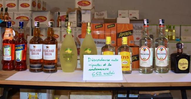 Descente de police dans 105 restaurants à Marrakech, dépôts de boissons alcoolisées
