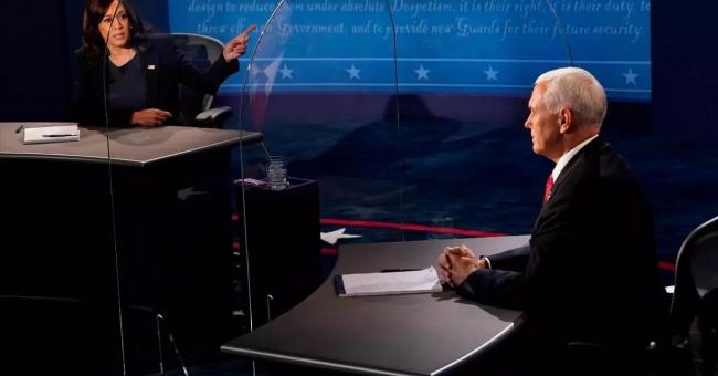 Kamala Harris et Mike Pence