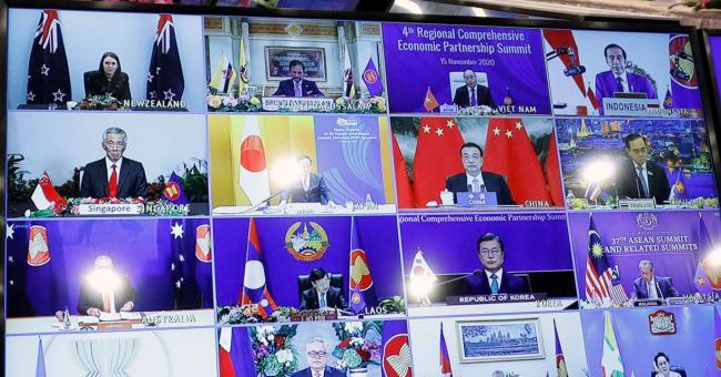 accord de libre-échange autour de la Chine