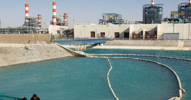 station de dessalement d'eau de mer