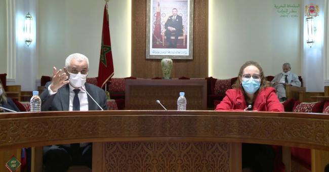 Le ministre de la Santé Khalid Aït Taleb devant la Commission des secteurs sociaux à la Chambre des représentants le mardi 15 décembre © DR
