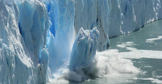 La fonte de la banquise arctique
