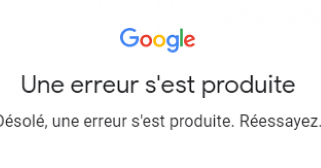 Gmail et Youtube down !