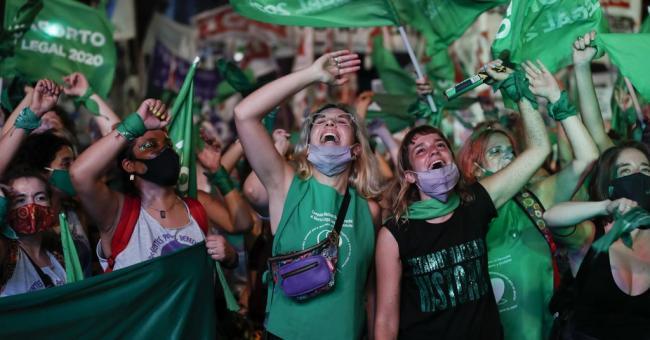 L'Argentine célèbre la légalisation de l'avortement