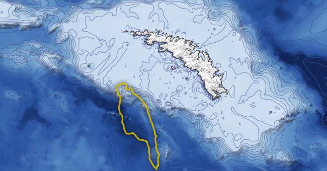 Le plus grand iceberg du monde risque de provoquer une catastrophe naturelle