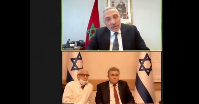 Maroc Israël MHE Peretz