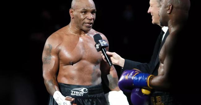 Mike Tyson de retour sur le ring