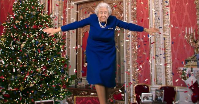 Un deepfake d'Élisabeth II pour Noël