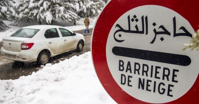 Vague de froid maroc