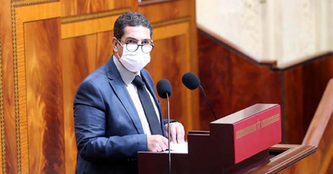 Saïd Amzazi, ministre de l'Education nationale à la Chambre des représentants © DR