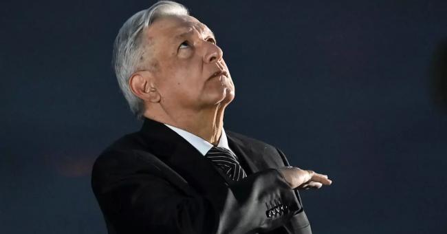Le président mexicain Andrés Manuel López Obrador, le 19 septembre 2020 © AFP
