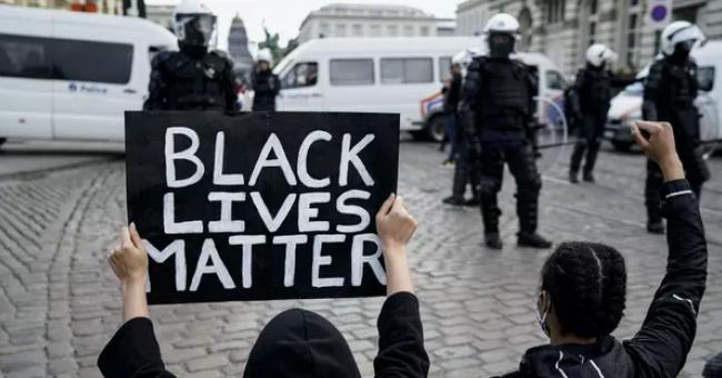 Manifestation anti-raciste à Bruxelles