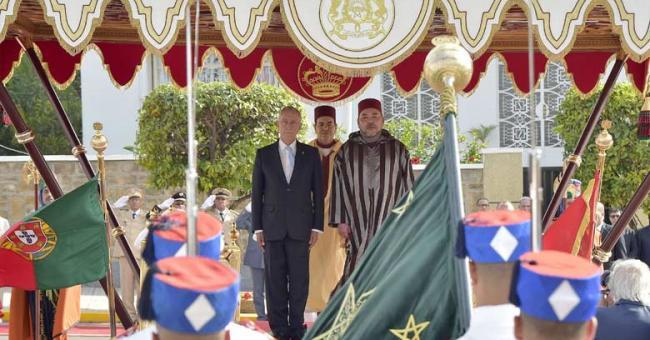 Le président portugais a effectué une visite officielle au Maroc en juin 2016