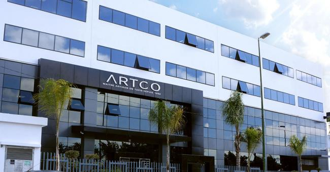 Siège d'Artco à Salé