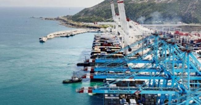 Port de Tanger Med, au nord du Maroc. © Tanger Med