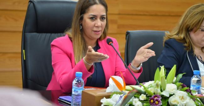 Nouzha Bouchareb, ministre de l'Aménagement du territoire national, de l'Urbanisme, de l'Habitat et de la Politique de la ville © DR