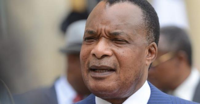 Denis Sassou Nguesso, ici en 2015 © Ammar Abd Rabbo