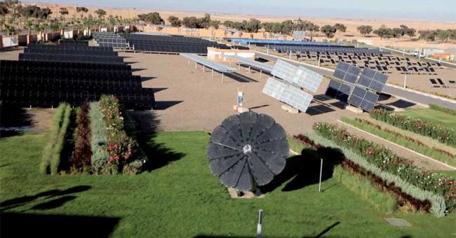 Le Green Energy Park, une plateforme de recherche et de formation en énergie solaire située dans la ville verte de Ben Guérir DR