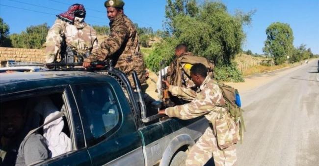 Les forces spéciales du Tigré