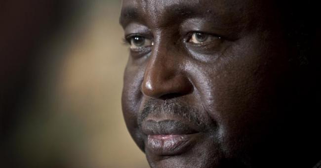 L'ancien président François Bozizé en janvier 2013 à Bangui © AP Photo