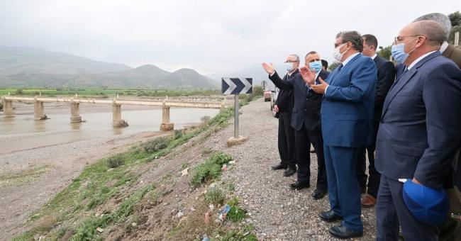 Aziz Akhannouch, ministre de l'Agriculture, de la Pêche maritime, du Développement rural et des Eaux et forêts, a effectué une visite de terrain dans la province Chefchaouen © DR