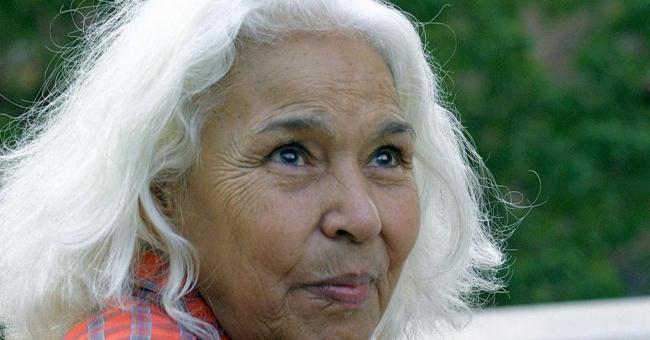 L'autrice féministe égyptienne Nawal el-Saadawi © Marina Helli, AFP