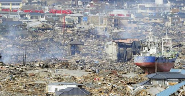 La catastrophe nucléaire de Fukushima en mars 2011