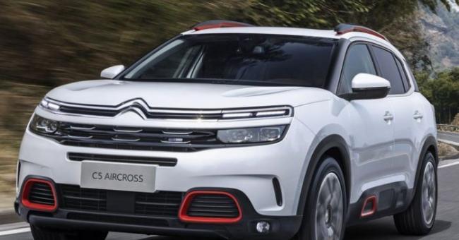 Le nouveau SUV Citroën C5 Aircross © Citroën