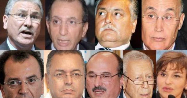 Les ex-membres du gouvernement désavoués © DR