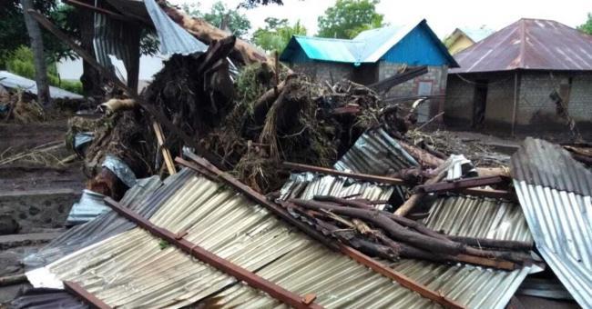 Les inondations en Indonésie ont provoqué la mort d'au moins 44 personnes © AFP