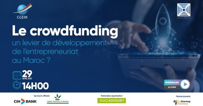 Webinaire sur le crowdfunding en tant qu'outil de financement des start-up © CGEM