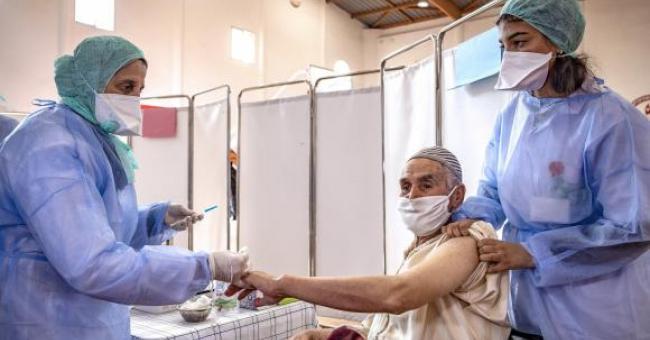 Le Maroc a réussi à administrer les deux doses du vaccin contre la Covid-19 à plus de 10 millions de personnes © Fadel Senna/AFP