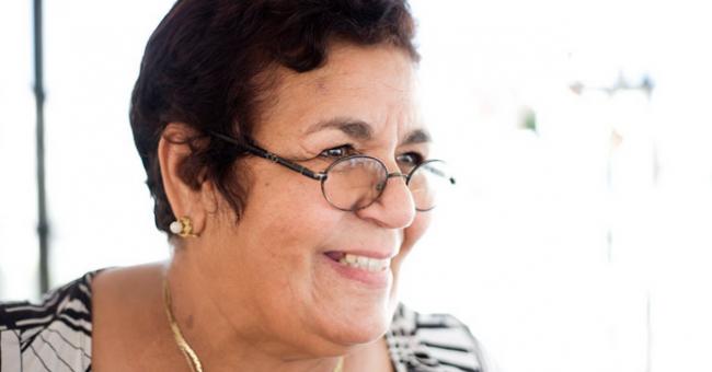 Aicha Chenna, militante marocaine pour les droits humains © DR