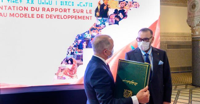 Chakib Benmoussa reçu en audience par le roi Mohammed VI au Palais royal de Fès © MAP