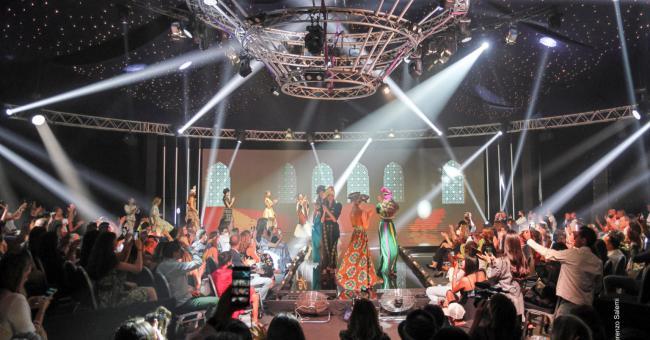 Le Casa Fashion Show s'est déroulé en comité réduit, dans le respect des normes sanitaires et des gestes barrières © DR
