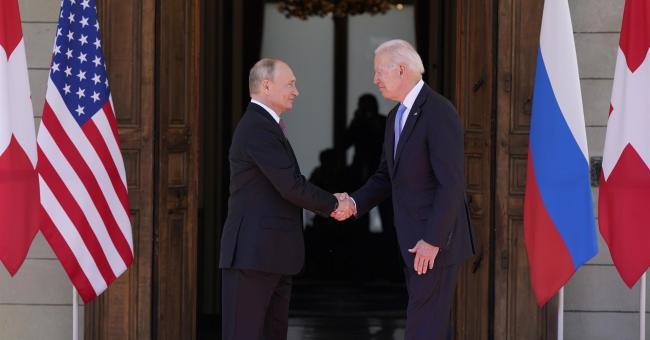 USA-Russie : 1re rencontre de Biden avec Poutine