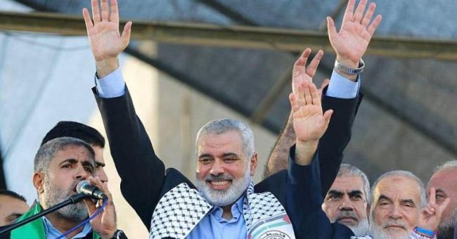 Ismaïl Haniyeih, chef du mouvement Hamas © DR
