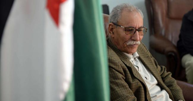 Brahim Ghali, chef du Front Polisario © DR
