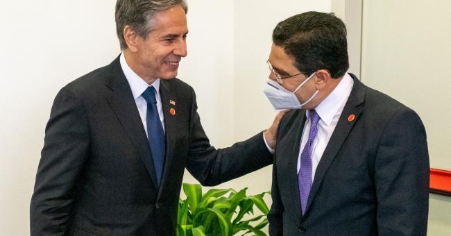 Nasser Bourita et Antony Blinken s'entretiennent à Rome