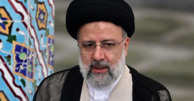 Le président élu de l'Iran, Ebrahim Raïssi, lors d'une conférence de presse à Téhéran, le 18 juin 2021 © AFP