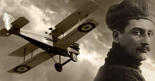 L'aviateur français Roland-Garros © DR