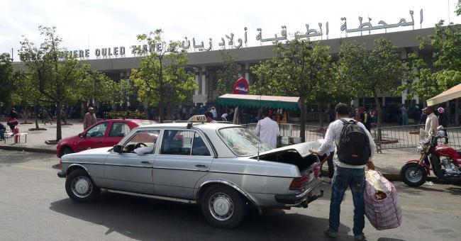 La gare Ouled Ziane à Casablanca © TelQuel