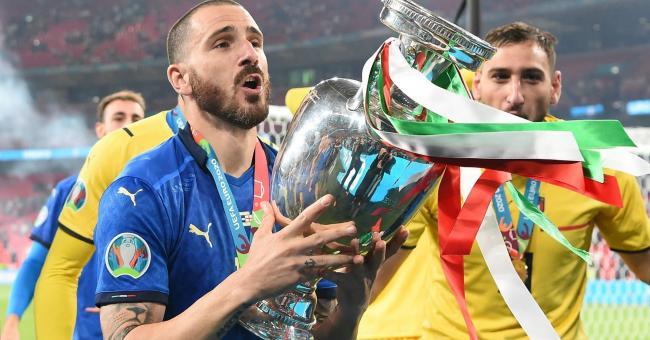 Euro 2021 : joie et bonheur des Italiens après leur sacre face à l'Angleterre