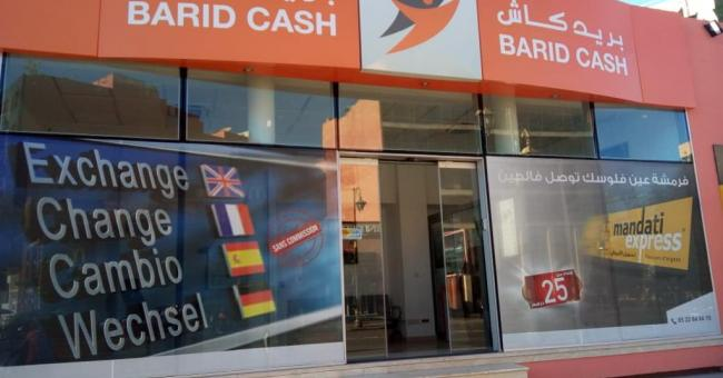 Agence de Barid Cash © DR
