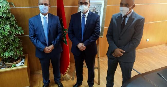 Mohamed Achiq a pris officiellement ses fonctions ce jeudi © DR