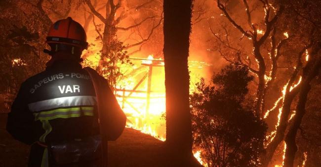 Incendie en France : évacuation massive dans le Sud du pays