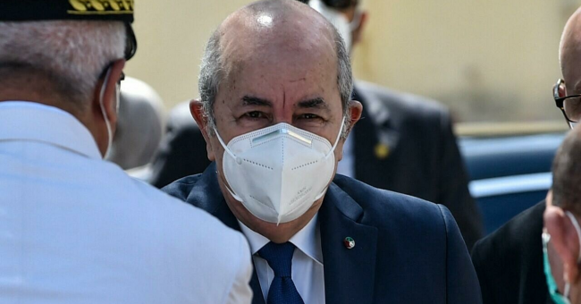 Incendies en Algérie : le président pointe un doigt accusateur sur le Maroc