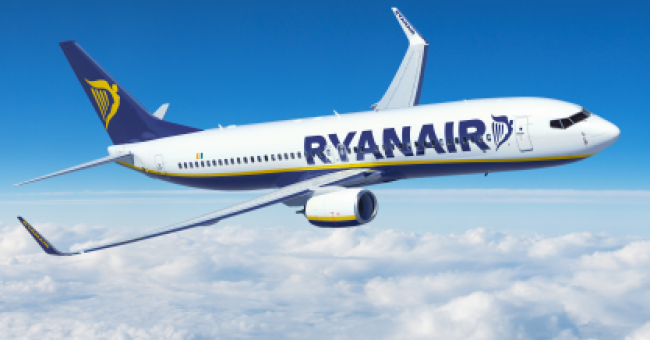 Avion de Ryanair © DR
